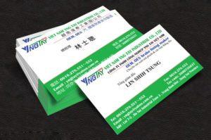 Name Card chi tiết của giám đốc người nước ngoài