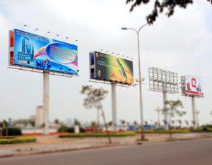 In hiflex với độ bền cao để làm bảng quảng cáo ngoài trời