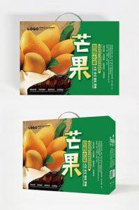 - đơn giản là, trái cây đóng gói mango.