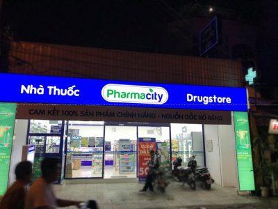 Bảng hộp đèn hiflex tại nhà thuốc Pharmacity