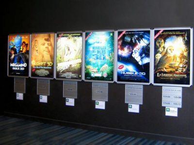 Hộp đèn mica rạp chiếu phim